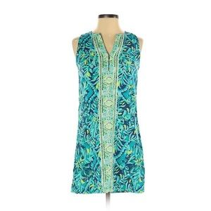 Lilly Pulitzer Kelby Shift Indigo Midnight Cove 0